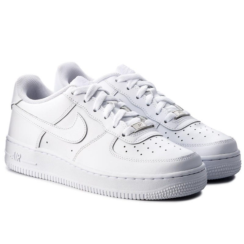 Schuhe NIKE-Air Force 1 (Gs) 314192 117 White/White/White