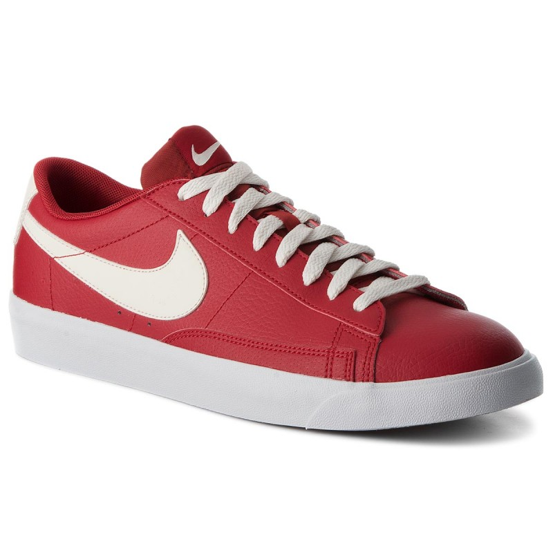 Schuhe NIKE-Blazer Low Lthr AJ9515 600 Gym Red/Sail/Sail