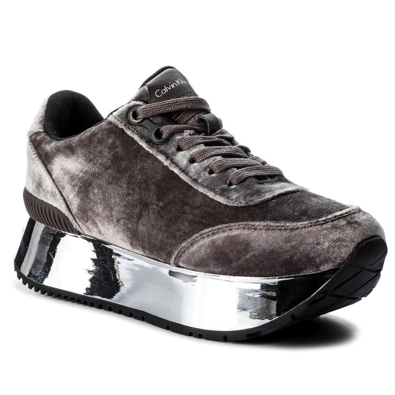 Sneakers CALVIN KLEIN JEANS-Cate R0688  Silver/Silver