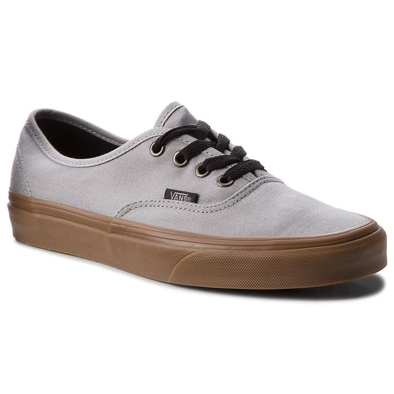 Turnschuhe VANS-Authentic VN0A38EMU40 (Gum Outsole) Alloy/Black