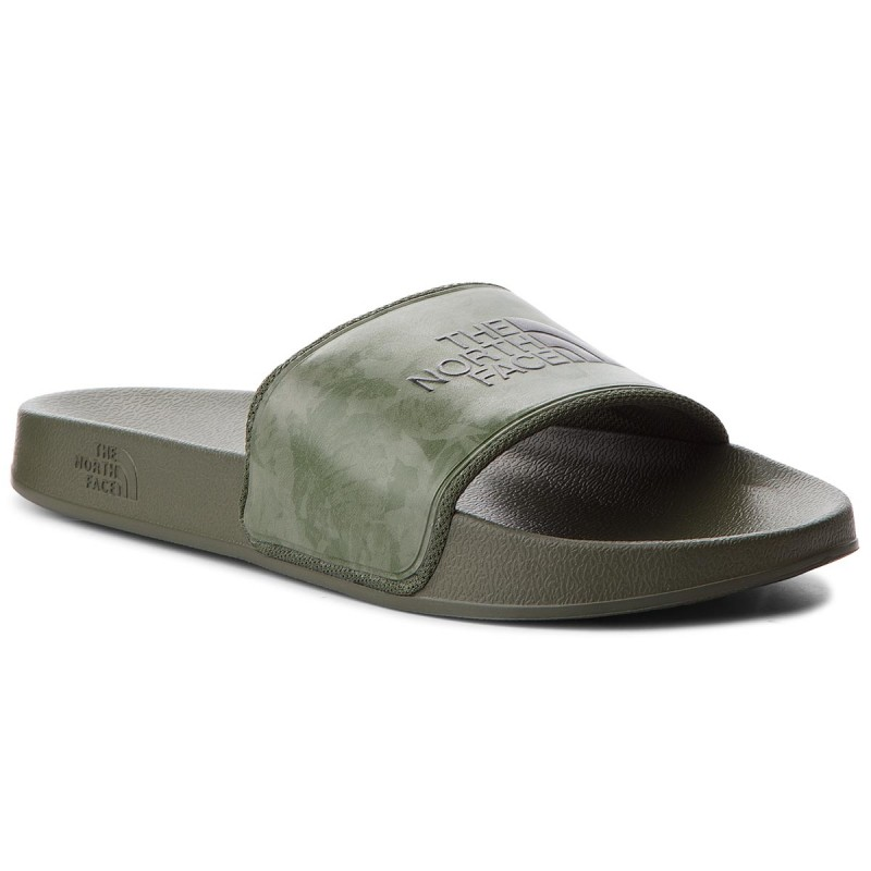 Pantoletten THE NORTH FACE-Base Camp Slide II T93FWO4FB Camo/English Green