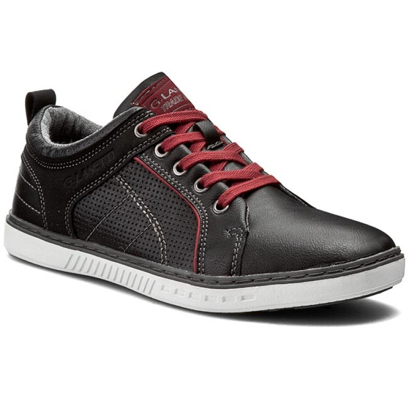 Sneakers GINO LANETTI-MP07-15730-01 Schwarz