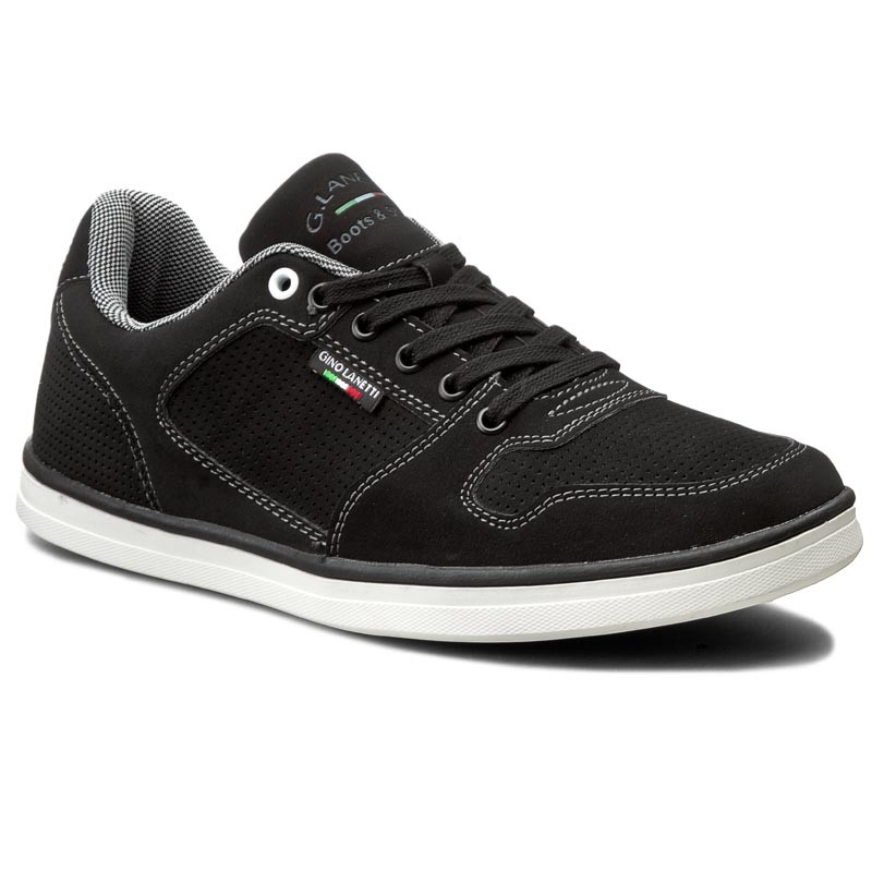 Sneakers GINO LANETTI-MP07-16904-01 Schwarz
