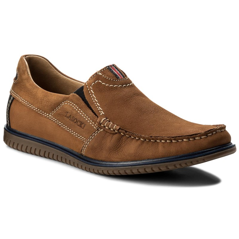 Halbschuhe LASOCKI FOR MEN-MB-RAMON-03 Camel