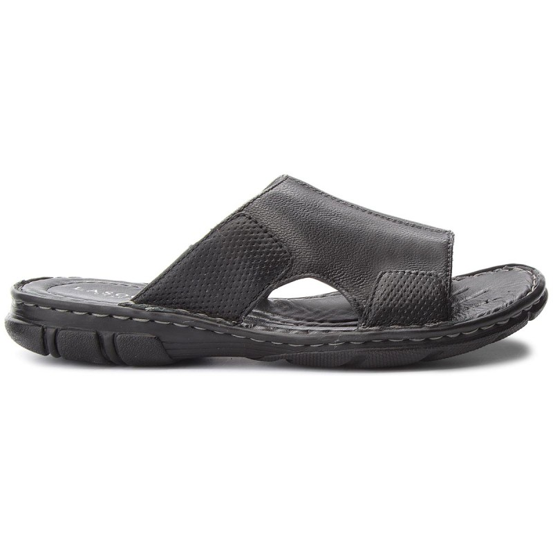 Pantoletten LASOCKI FOR MEN-MI08-C271-320-08 Schwarz