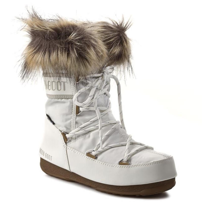 Schneeschuhe MOON BOOT-Monaco Low 24002900002 White