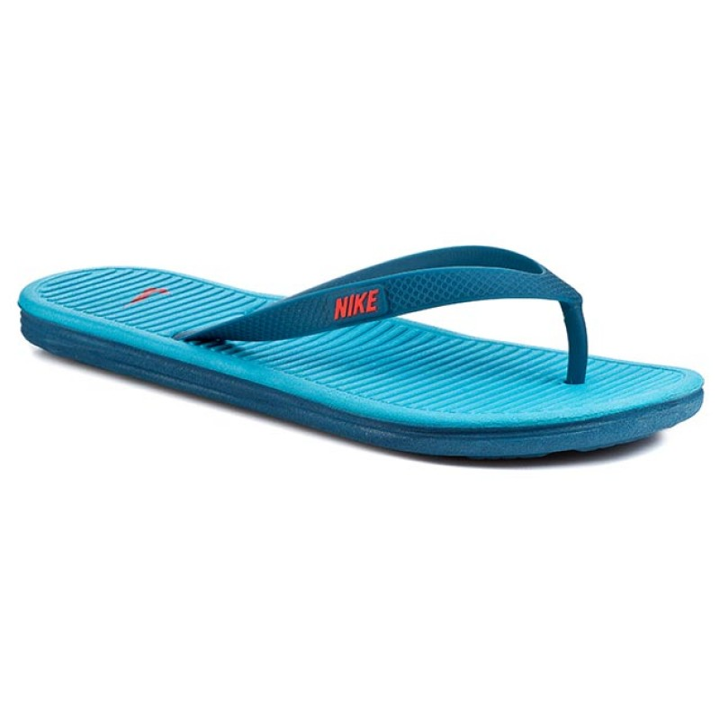 Zehentrenner NIKE-Solarsoft Thong II 488160 467 Blue Force/Brght Crmns Bl Lgn