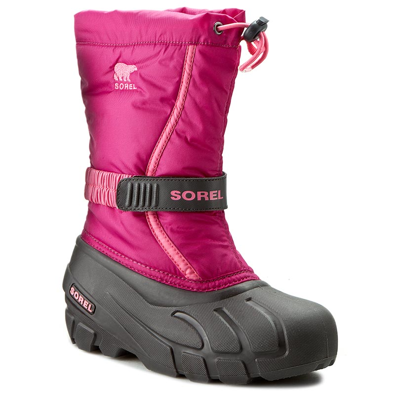 Sorel Kinder Winterstiefel FLURRY Youth NY1885 684 Blush Tropic Pink Gr 35
