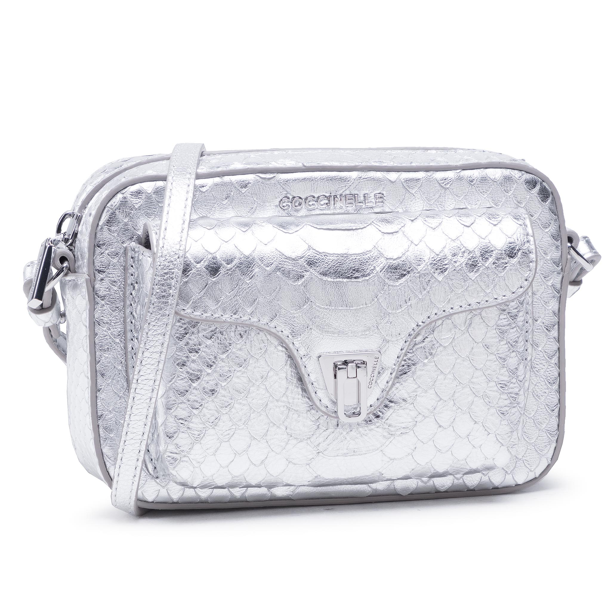 Coccinelle HF4 Beat Python Lulula E1 HF4 55 04 01 Silver/Silver Y69