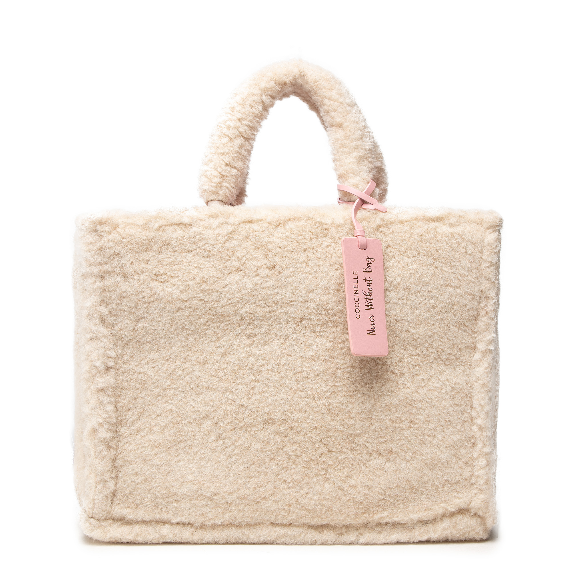 Coccinelle IQ9 Never Without Bag Ecoshea E1 IQ9 18 02 01 Powder Pink N80
