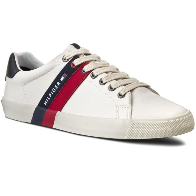 0366f1bcad96ae Sneakers TOMMY HILFIGER - Volley 5A FM56819867 Off White 156 ...