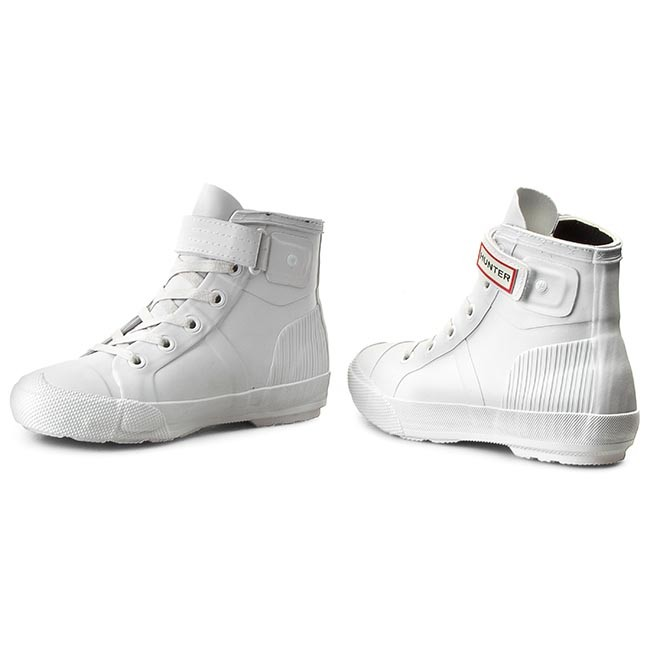 Sneakers HUNTER                                                      Damenschuhe Orgi Hi-Top WFK1004RMA Weiß d5e9cb
