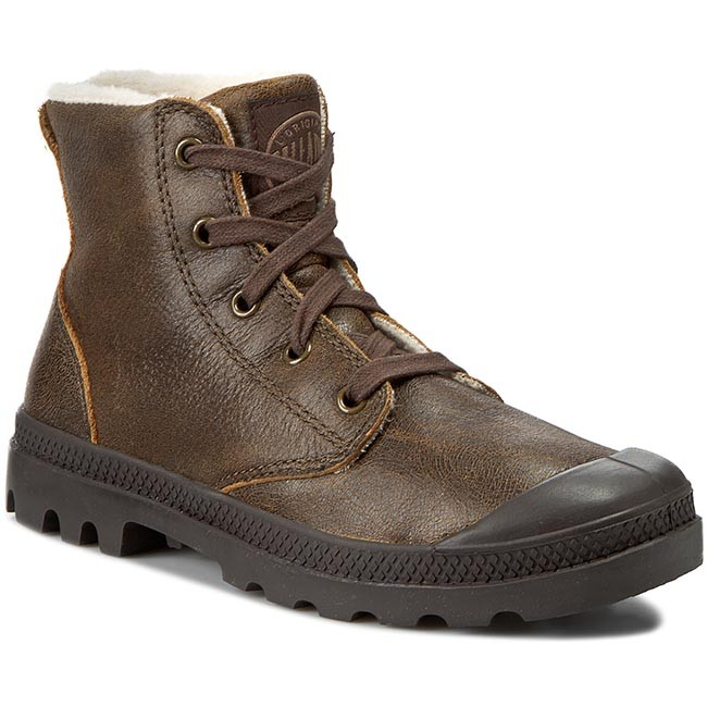 Trapperschuhe PALLADIUM-Pampa Hi Leather S 92609-272-M Sunrise Pilot Werbe Schuhe