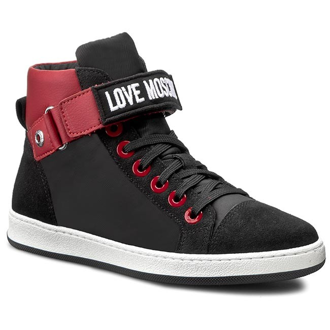 Sneakers LOVE MOSCHINO                                                      JA15033G10IL150A Ross/Nero d3d894