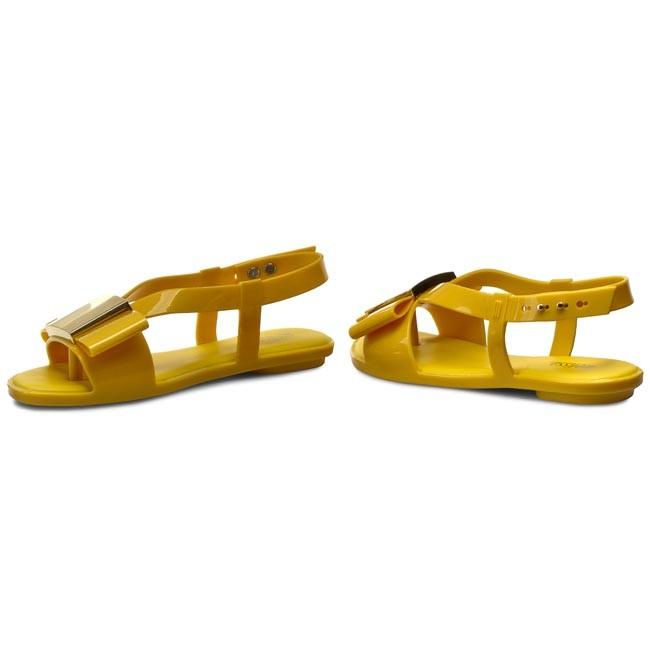 Zehentrenner MELISSA                                                      Flat Lovely Ad 31688 Yellow 01191 b25afa