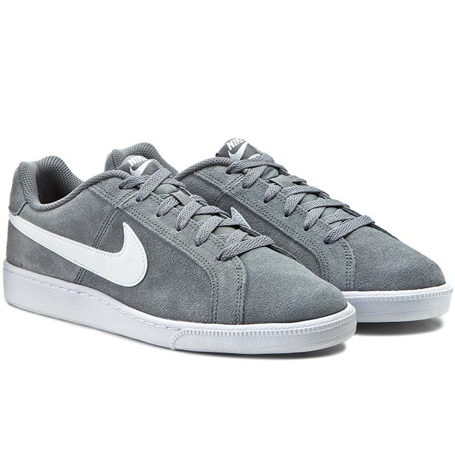 Schuhe NIKE Court Royale Suede 819802 010 Cool GreyWhite