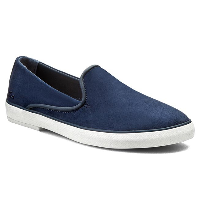 Lords Schuhe LACOSTE-Cherre 116 1 Caw 7-31CAW0105003 Nvy Werbe Schuhe