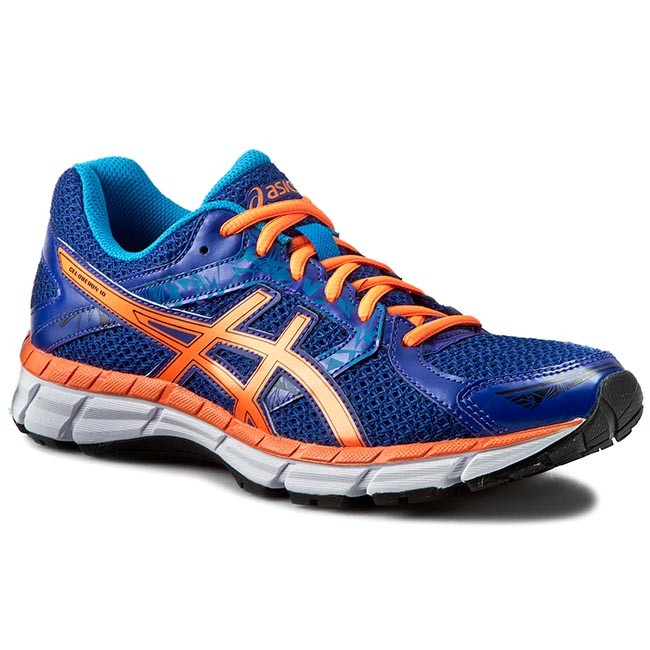 Schuhe ASICS - Gel-Oberon 10 T5N1N Asics Blue/Hot Orange/Methyl Blue