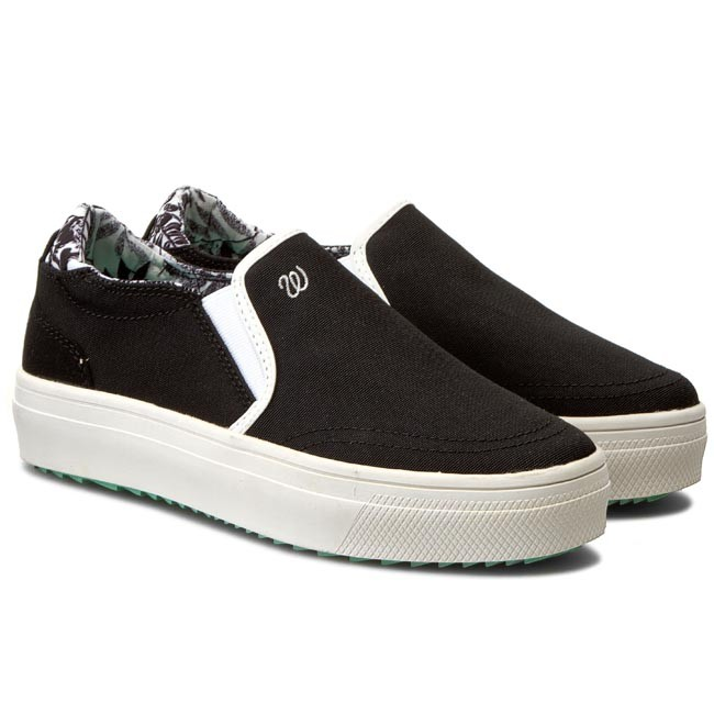 Turnschuhe WRANGLER                                                      Sheena Slip On WL161556 Black 62 a44123