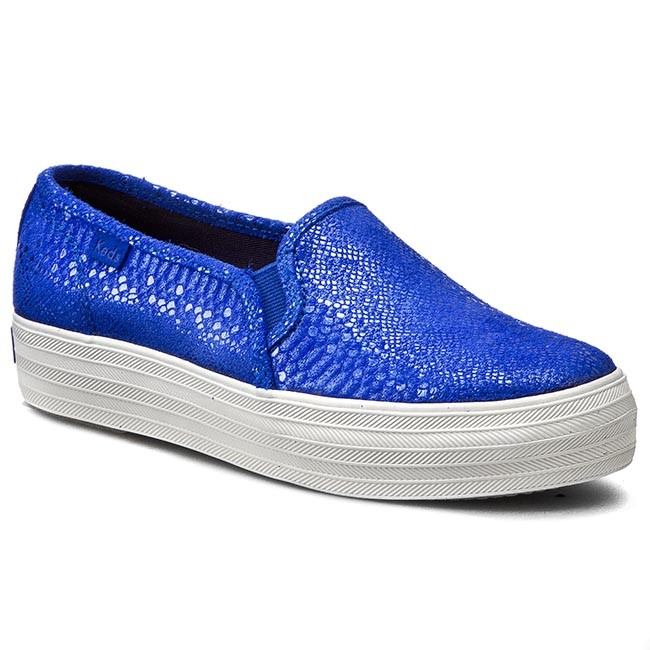 Turnschuhe KEDS                                                      Triple Deck WH54728 Shimmer Blau c4adce