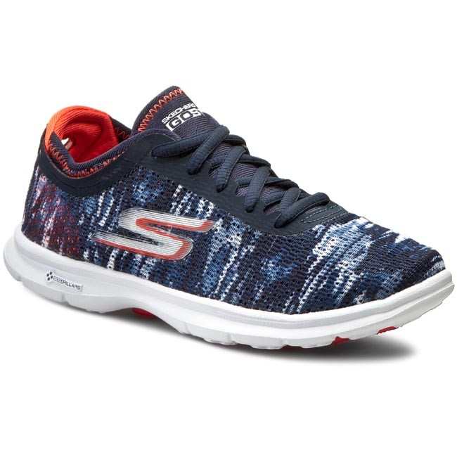 Schuhe SKECHERS Go Step 14200/NVCL Navy/Coral