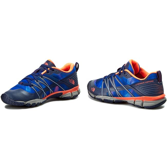 Schuhe THE Patriot NORTH FACE  Litewave Ampere T0CXU1GSL-050 Patriot THE Blue Print/Tropical Coral 6bf4f9