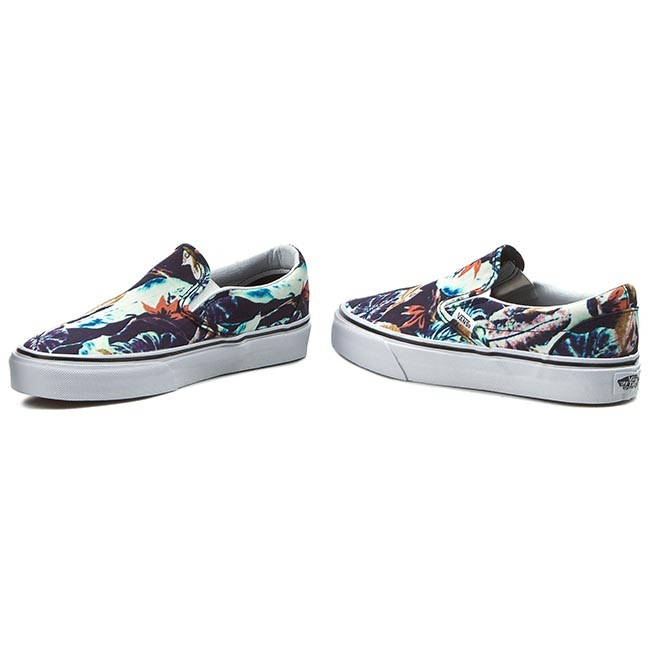 Turnschuhe VANS - Classic Slip-On VN0A38F7OGG (Moto Leather) Blk/BlcdBlc RiGtAGY