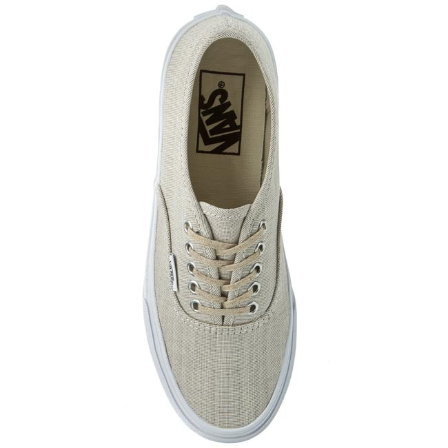 Turnschuhe VANS Authentic Slim VN000XG6IAY GrayTrue Wht (Chambray)