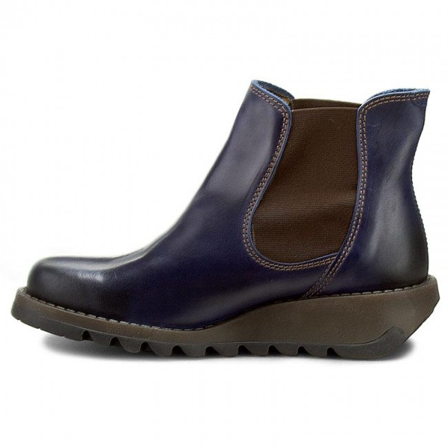 Stiefeletten FLY LONDON                                                      Salv P143195019 Blau e94a48