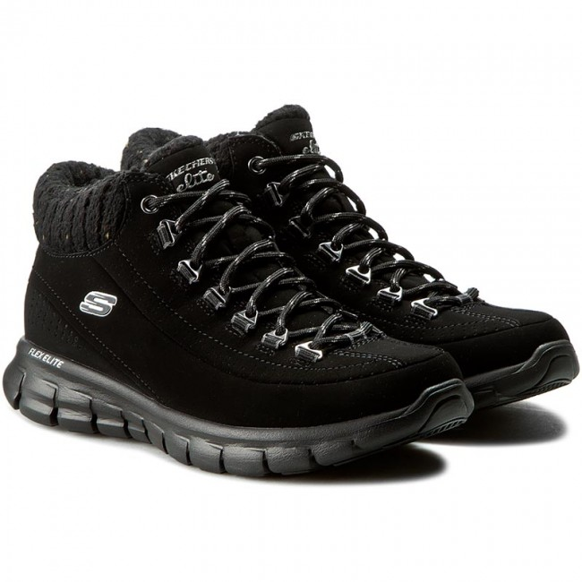 Trekkingschuhe SKECHERS                                                      Winter Nights 12122/BBK schwarz 4f3e9a