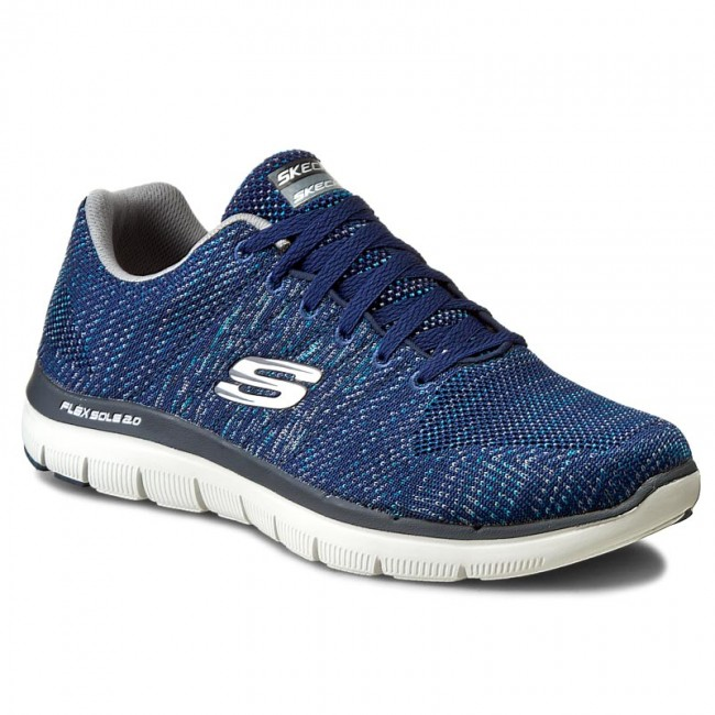 Schuhe SKECHERS-Missing Link 52181/NVGY Navy/Grau