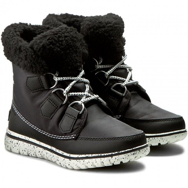 Schneeschuhe SOREL  Salt Cozy Carnival NL2297-010 Black/Sea Salt  cab7be