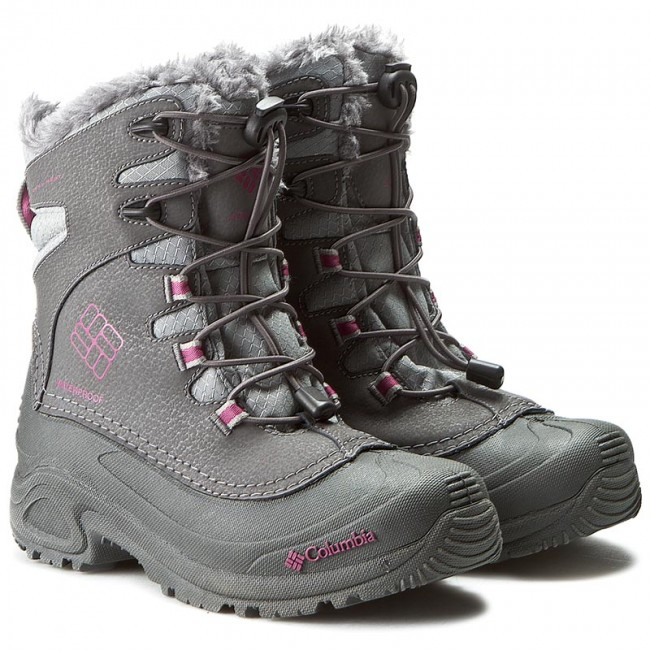 Schneeschuhe COLUMBIA       COLUMBIA                                               Youth Bugaboot Plus III Omni-Heat BY1321 Shakle/Deep Blush 051 f12294