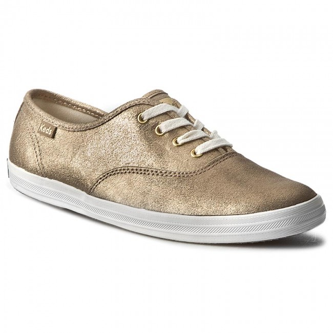 Turnschuhe KEDS                                                      Champion Metallic WH54529 Leder Gold 36439f