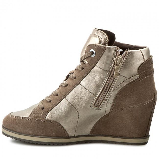 Sneakers GEOX                                                      D Illusion A D4454A 0KY22 CB5Q6 Champagne/Taupe 51fd02