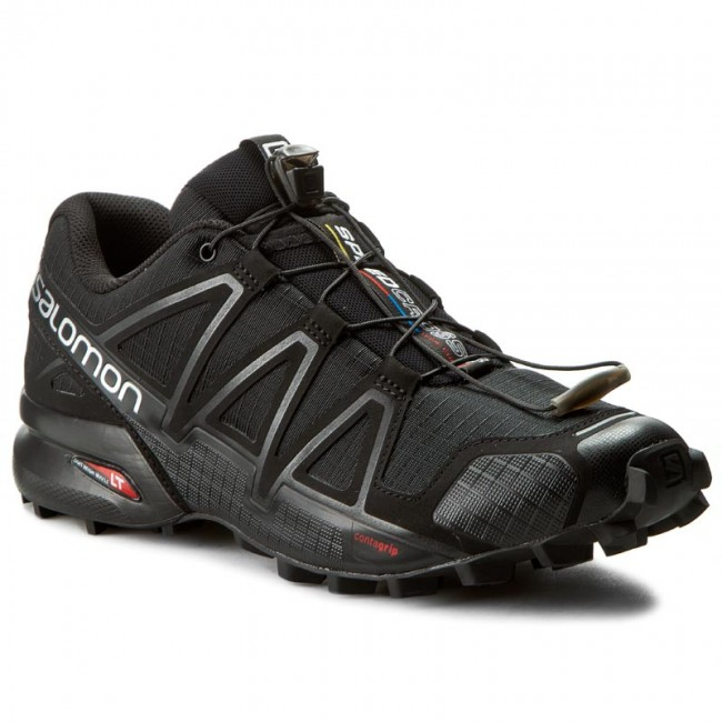 Schuhe SALOMON-Speedcross 4 383130 26 V0 Black/Black/Black Metallic
