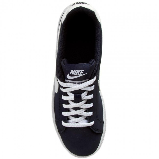 Schuhe NIKE                                                      Court Royale (GS) 833535 400 Obsidian/Weiß 581648