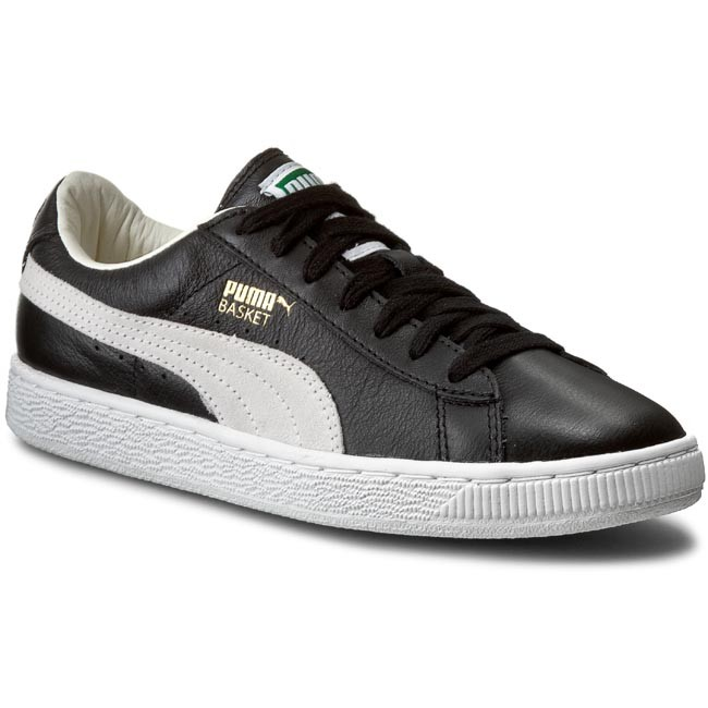 30735ab3feae Sneakers PUMA - Basket Classic 351912 02 Black White - Alltagsschuhe ...