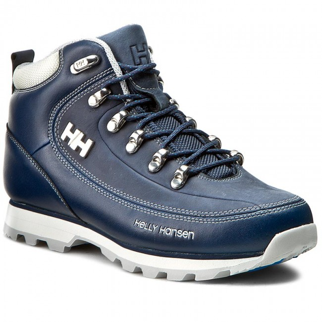 Trekkingschuhe HELLY HANSEN The Forester Grau/Light 105-16.292 Deep Blau/Off Weiß/Light Grau/Light Forester Ocean 5300f6