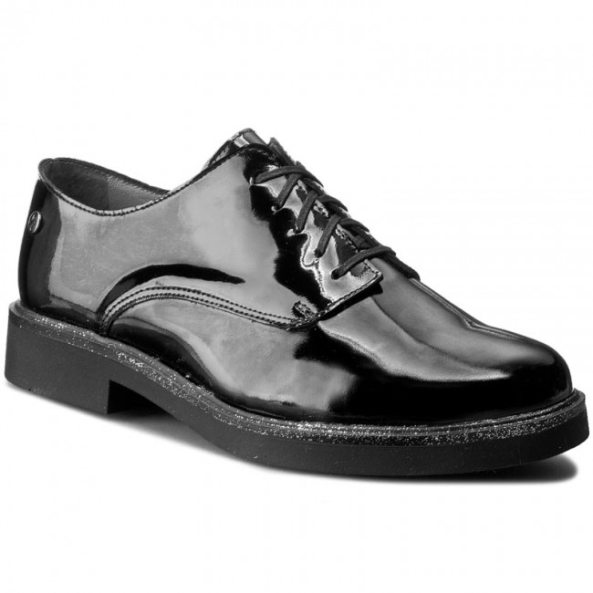 Oxfords MACIEJKA    02710-01/00-1 Schwarz f50d97