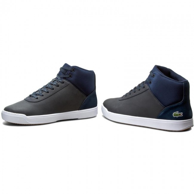 Sneakers LACOSTE-Explorateur Schuhe Ankle 316 2 7-32CAW0121003 Nvy Werbe Schuhe LACOSTE-Explorateur 320dab