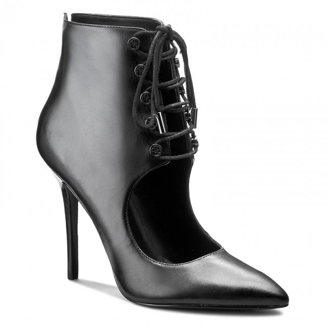 High Heels GUESS                                                      Pivia FLPIV4 LEA09 BLACK ab4a17