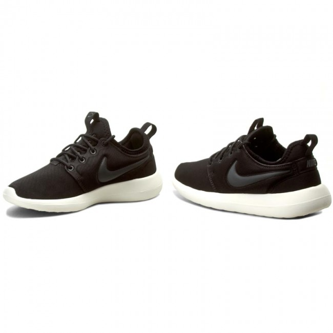 Schuhe NIKE                                                      Roshe Two 844931 002 schwarz/Anthracite/Sail/Volt a744a5