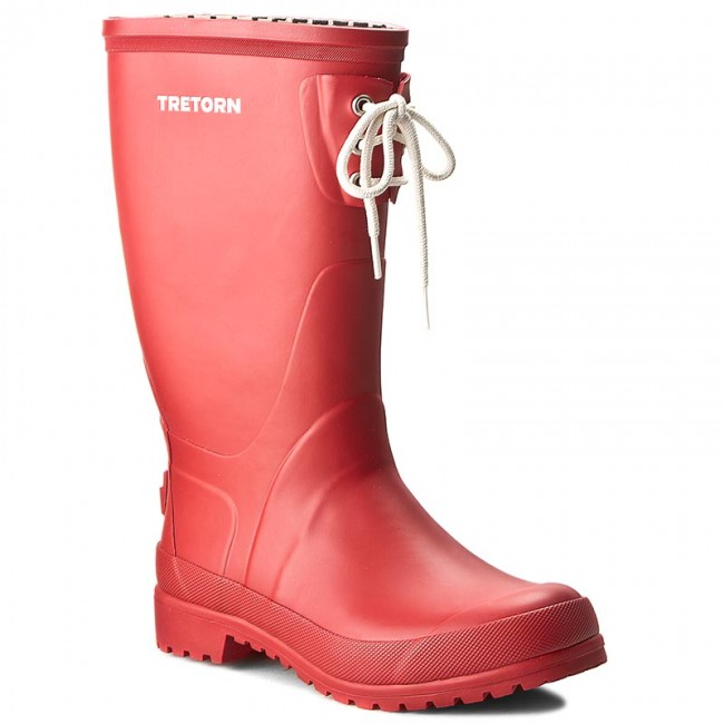 Gummistiefel TRETORN Lilly 473104 Red 50