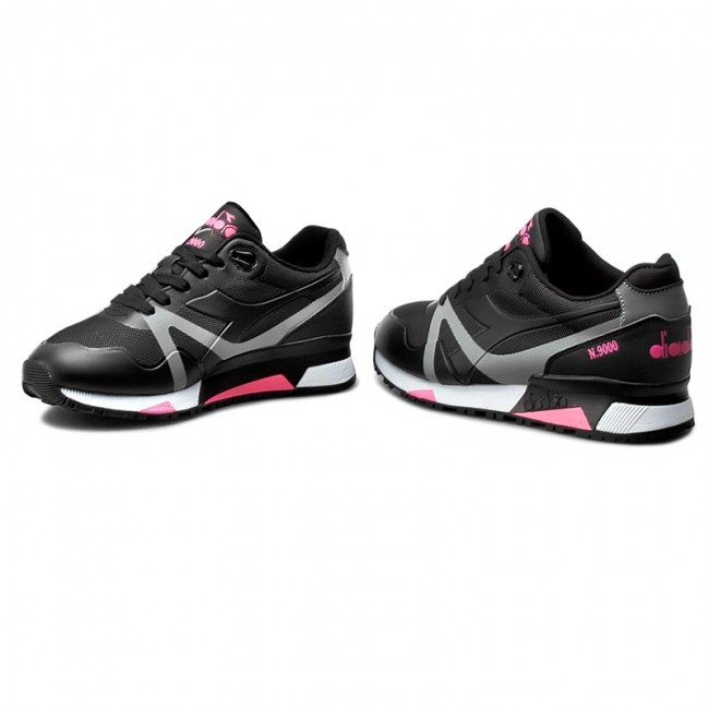 Sneakers DIADORA-N9000 Bright schwarz/Pink Protection 501.171102 01 C466 schwarz/Pink Bright Fluo 2ca4e2