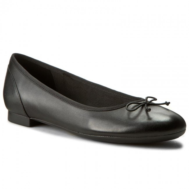 Ballerinas CLARKS                                                    Couture Bloom 261154854 Black Leather
