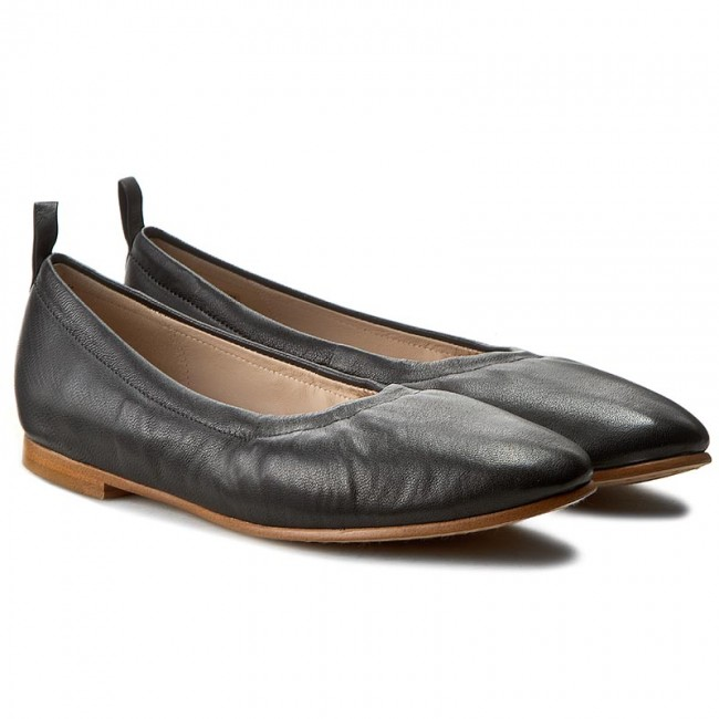 Ballerinas CLARKS-Grace Mia 261230364 Black Schuhe Leather Werbe Schuhe Black c379fd