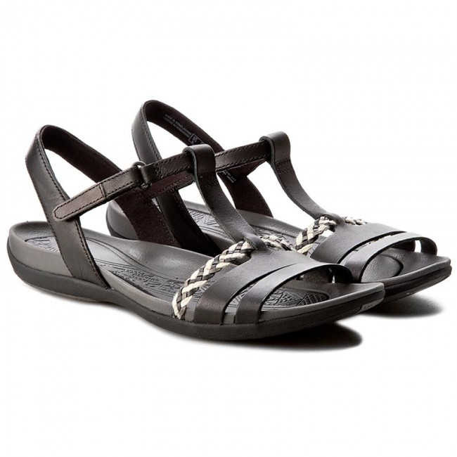 Sandalen CLARKS                                                      Tealite Grace 261245834 Black Leather feda54
