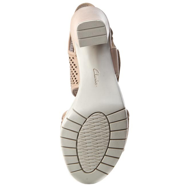 Sandalen CLARKS                                                      Pastina Estate 261253584 Nude Leather e4989e