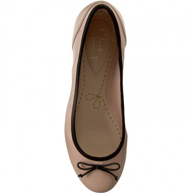 Ballerinas CLARKS                                                      Couture Bloom 261260064 Nude Pink Lea 360c8a